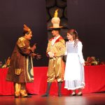 Cogsworth, Lumiere & Belle